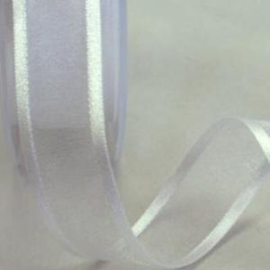 Satin Edged Organza 23mm - 3 Pastel Colours