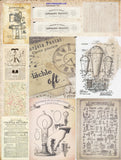 Cut & Creates, Designed for Vintage Junk Journals, Digital