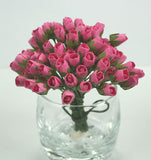 Rosebuds - Mini 1cm 6 colours