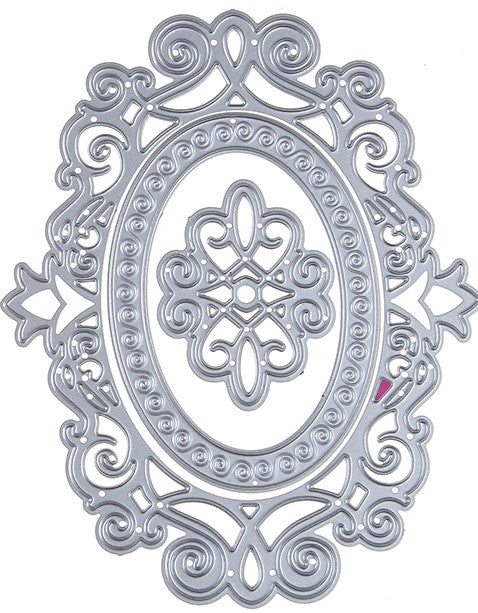 Frames - Decorative Oval Dies