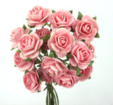 Rose of Paper - 1.5cm, Posy of 10, 5 Colours