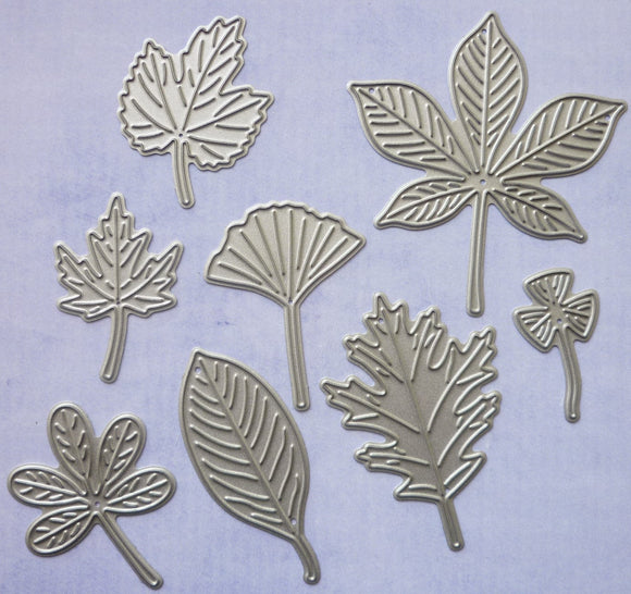 Leaves - multi shapes Dies - 8 dies 1.6 to 5.3cm
