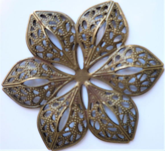 Large Flower Filigree Trinket