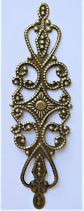 Long Strip Filigree Trinket