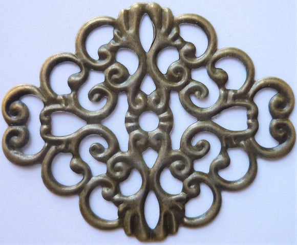 Oval Filigree Trinket