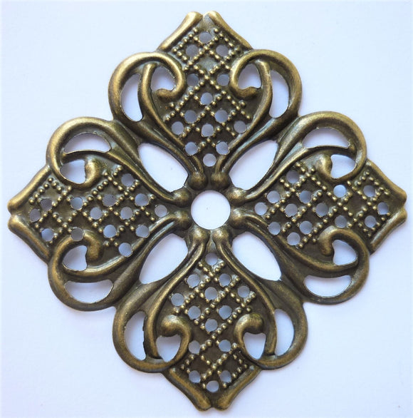 Square Filigree Trinket