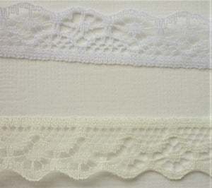 Lace - 14mm - 2 colours