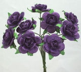 Rose in Paper - 2cm, Posy of 10, 3 Colours
