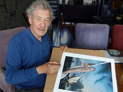Sir Ian McKellen Co-Signs Edition Print