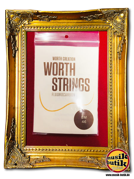 "Worth Strings Brown Fluoro carbon BM 46"" 0.0205 0.0260 0.0291 0.0224"