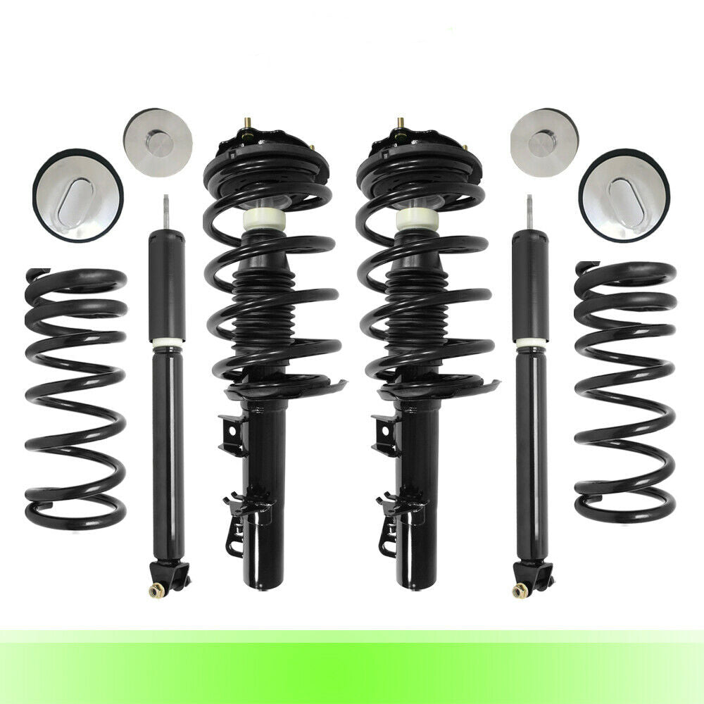 Air to Complete Struts & Coil Springs Conversion Kit for 1995-2002 Continental