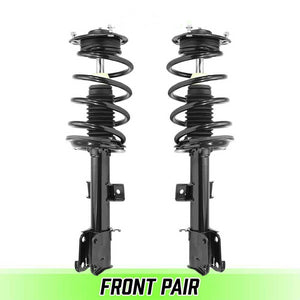 Front Pair Complete Struts & Coil Spring Assemblies for 2010-2012 Santa Fe