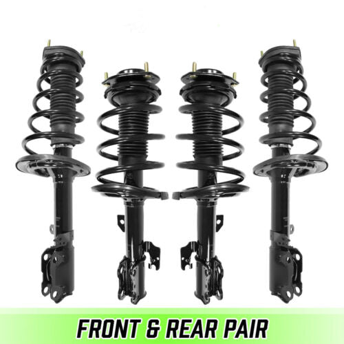 Front & Rear Quick Complete Struts & Coil Springs for 2006-2012 Toyota Avalon