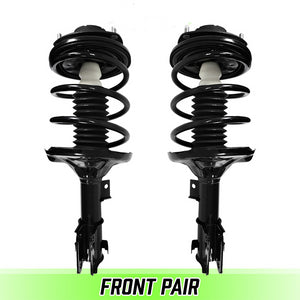 Front Pair Complete Struts & Coil Springs for 2001-2005 Dodge Stratus Coupe