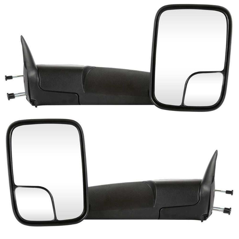 2002-2009 Pair Power Heated Flip Up Tow Mirrors Fits Dodge Ram 1500 03-09 2500 3500