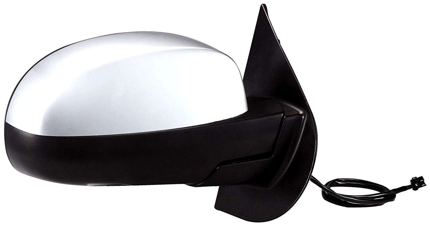 Fit System 62087G Chevrolet/GMC Passenger Side Replacement OE Style Black Heated Power Folding Mirror