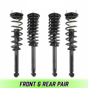 Front & Rear Quick Complete Struts & Coil Springs for 2001-2006 Lexus LS430