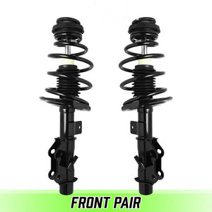 Front Pair Complete Struts & Coil Springs For 2010-2015 Chevrolet Camaro V8