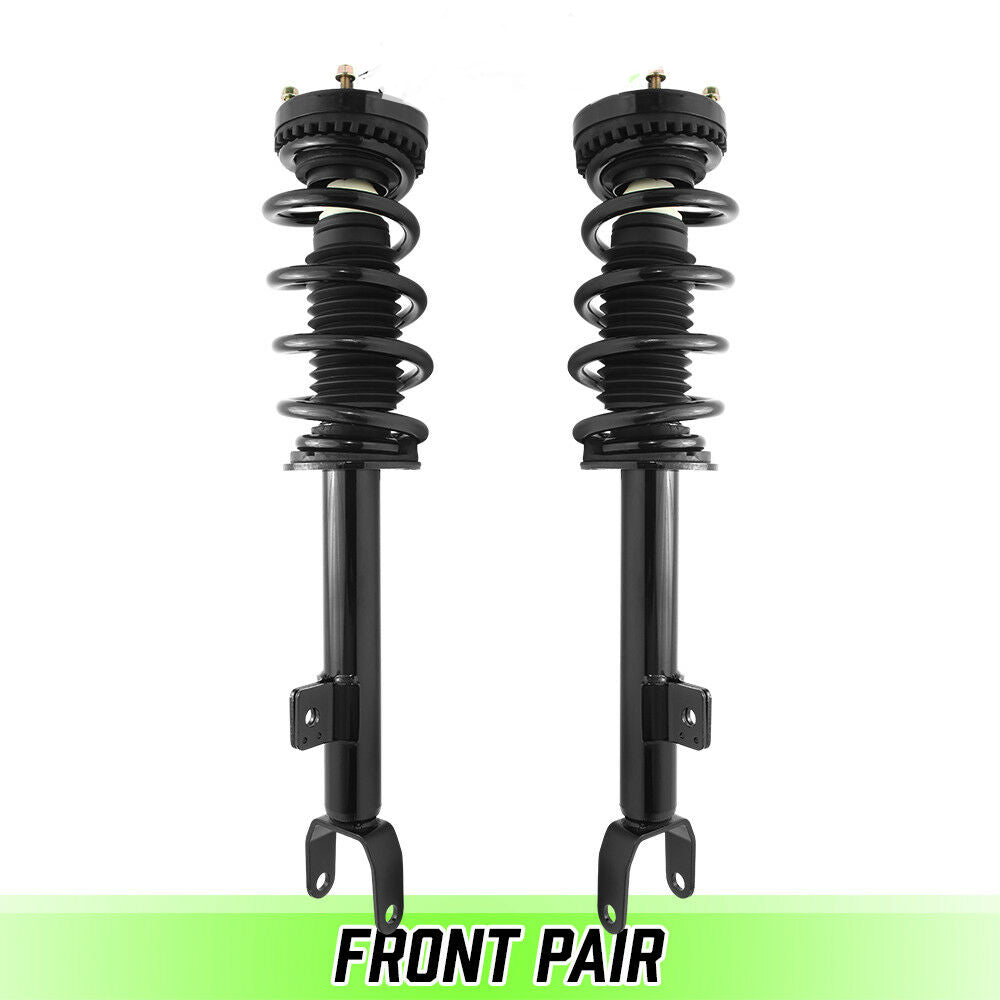 Front Pair Complete Struts & Coil Springs For 2012-2017 Dodge Charger V8 RWD