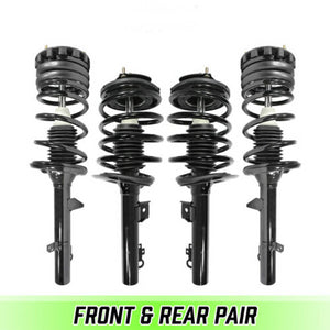 Front & Rear Quick Complete Struts & Coil Spring assemblies For 1996-2005 Sable