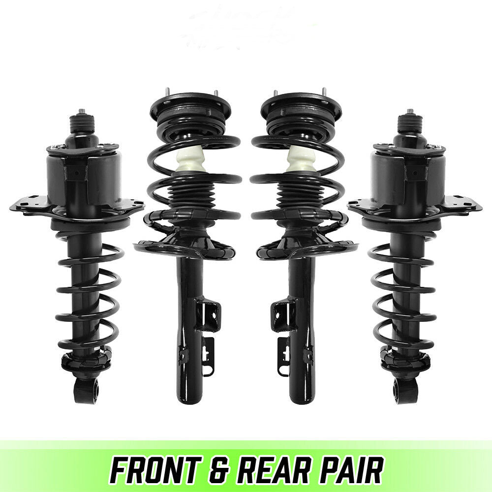 Front & Rear Complete Struts & Coil Springs for 2005-2007 Ford Five Hundred AWD