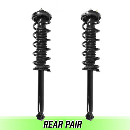 Rear Pair Quick Complete Struts & Coil Springs for 2003-2007 Honda Accord