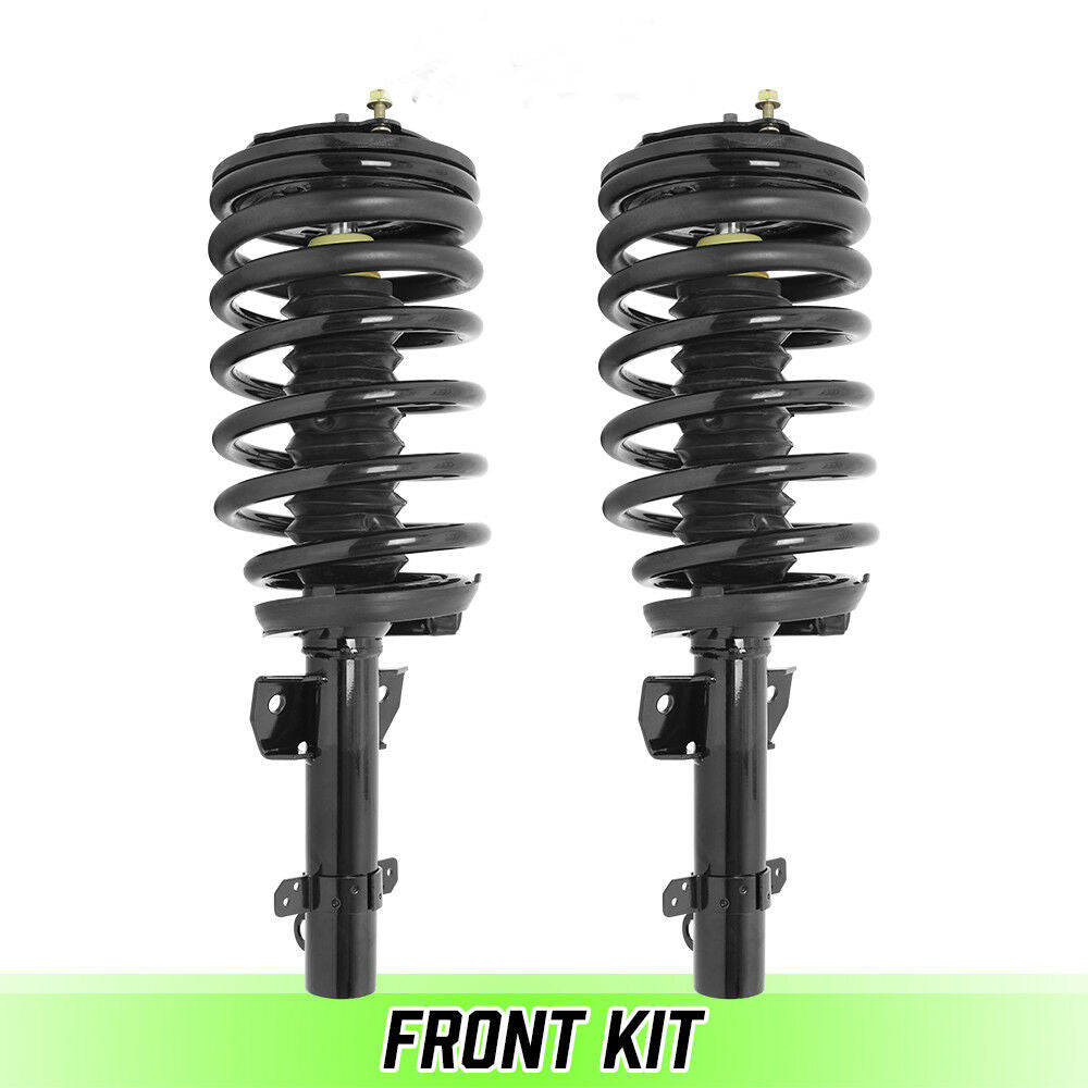Front Air to Coil Spring & Strut Conversion Kit for 88-94 Lincoln Continental
