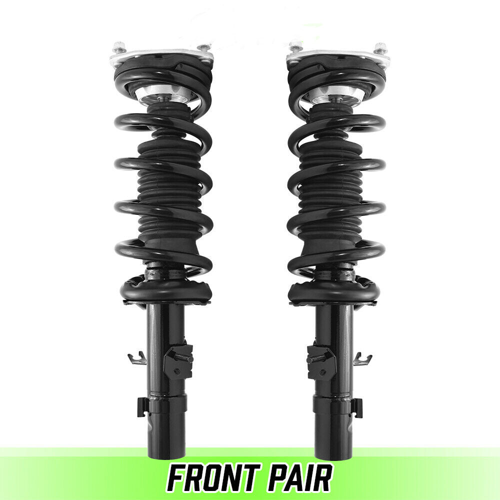 Front Pair Quick Complete Struts & Springs for 2008 Infiniti G35 AWD Sedan