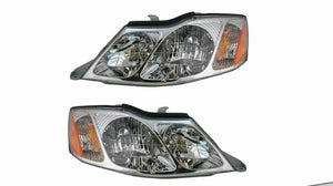Headlights Headlamps Left & Right Pair Set NEW for 00-04 Toyota Avalon