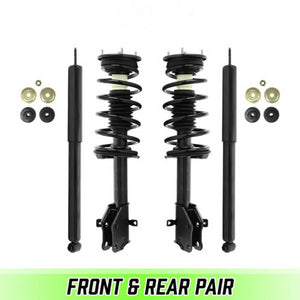 Front Quick Complete Struts w/ Springs & Rear shocks for 2007-2010 Lincoln MKX