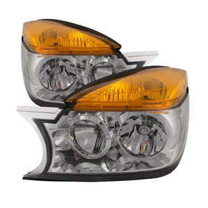Headlights w/Performance Lens Set Left Right Fits 2002-2003 Buick Rendezvous