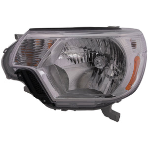 Headlight High Quality CAPA Left Hand Driver Side Fits 2012-2015 Toyota Tacoma