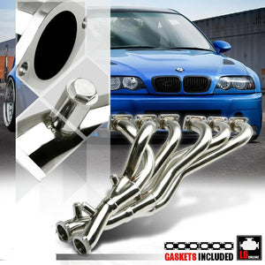 Stainless Steel Exhaust Header Manifold for 98-06 BMW E46 3-Series 2.5/2.8 6Cyl
