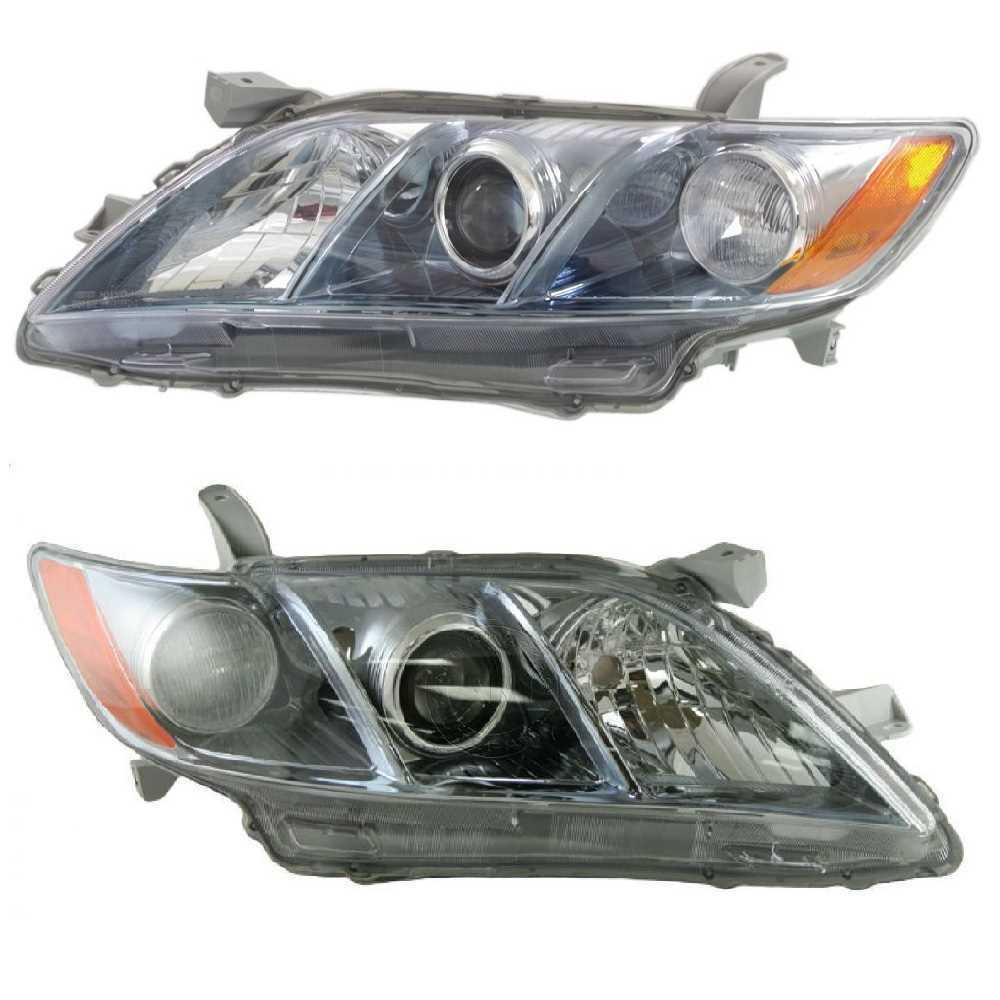 New Headlight Headlamp Left Right Pair fits 07-09 Toyota Camry