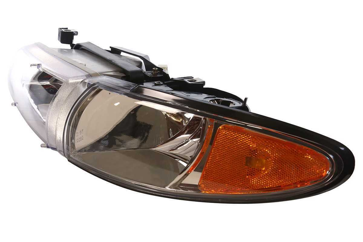 New Left and Right Pair of Headlights Headlamps fits 97-03 Pontiac Grand Prix