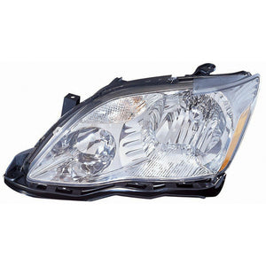 Headlight Halogen High Quality CAPA Hand Driver Side Fits Toyota Avalon 05-07