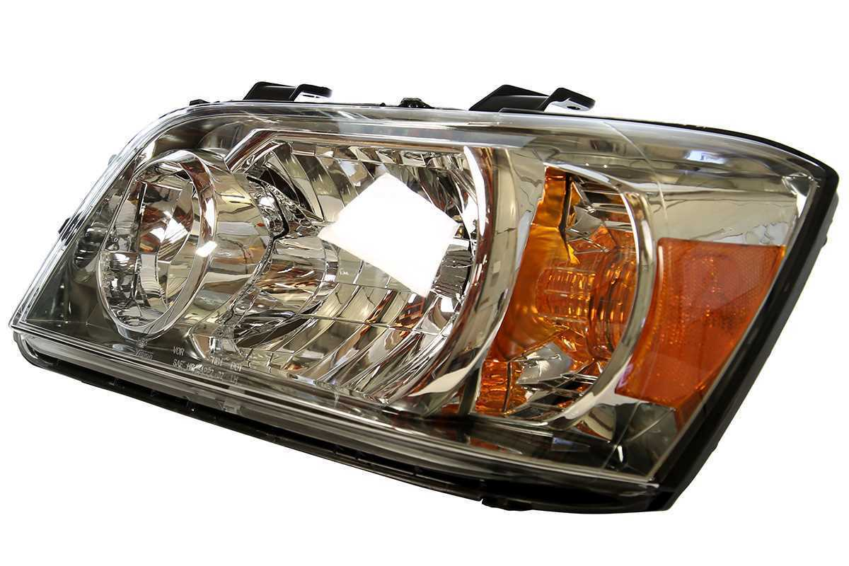 Front Left Driver Side Headlight Headlamp Assembly fits 04-06 Toyota Highlander