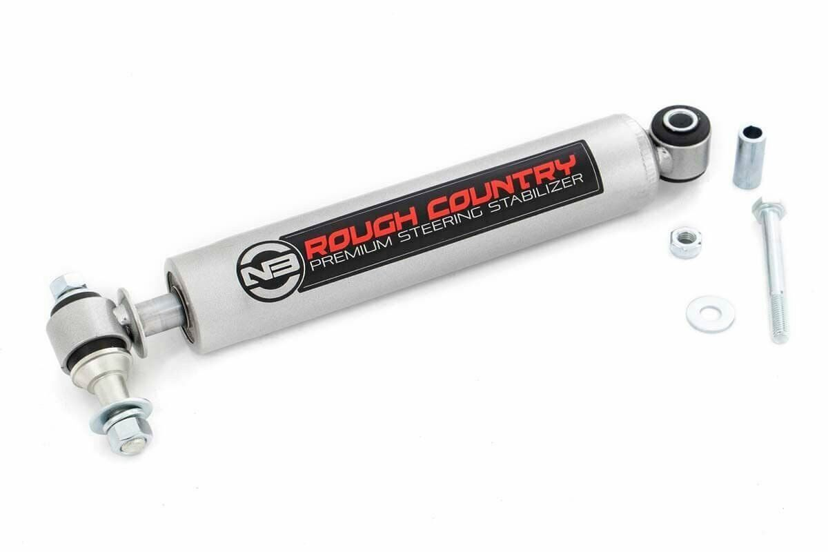 Rough Country N3 Steering Stabilizer - TJ/YJ/WJ/ZJ/XJ/MJ & GM - 8731730