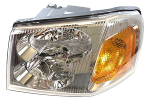 New LH Driver Side Headlamp Headlight Assembly w/o Bulb fits 2002-2009 GMC Envoy