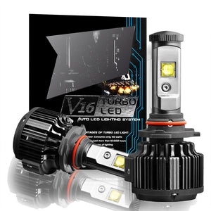 Cree LED Headlight Kit H8 H9 H11 Conversion Light Bulbs 60W 7200LM 6000K White