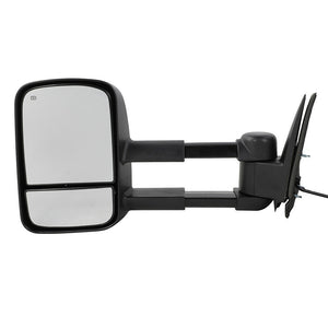 Power Heated Tow Mirrors Pair for 99-02 Chevy Silverado Sierra 1500/2500/2500HD