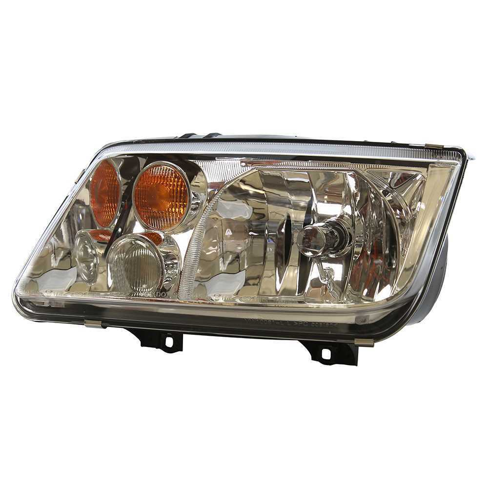New Left Side Headlamp Headlight Assembly fits 02-05 Volkswagen Jetta