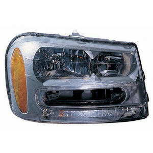 Headlight Right Passenger CAPA For Chevrolet Trailblazer 02-09