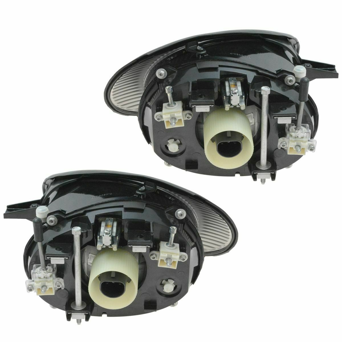 Headlights Headlamps Left & Right Pair Set NEW for 98-99 Ford Taurus