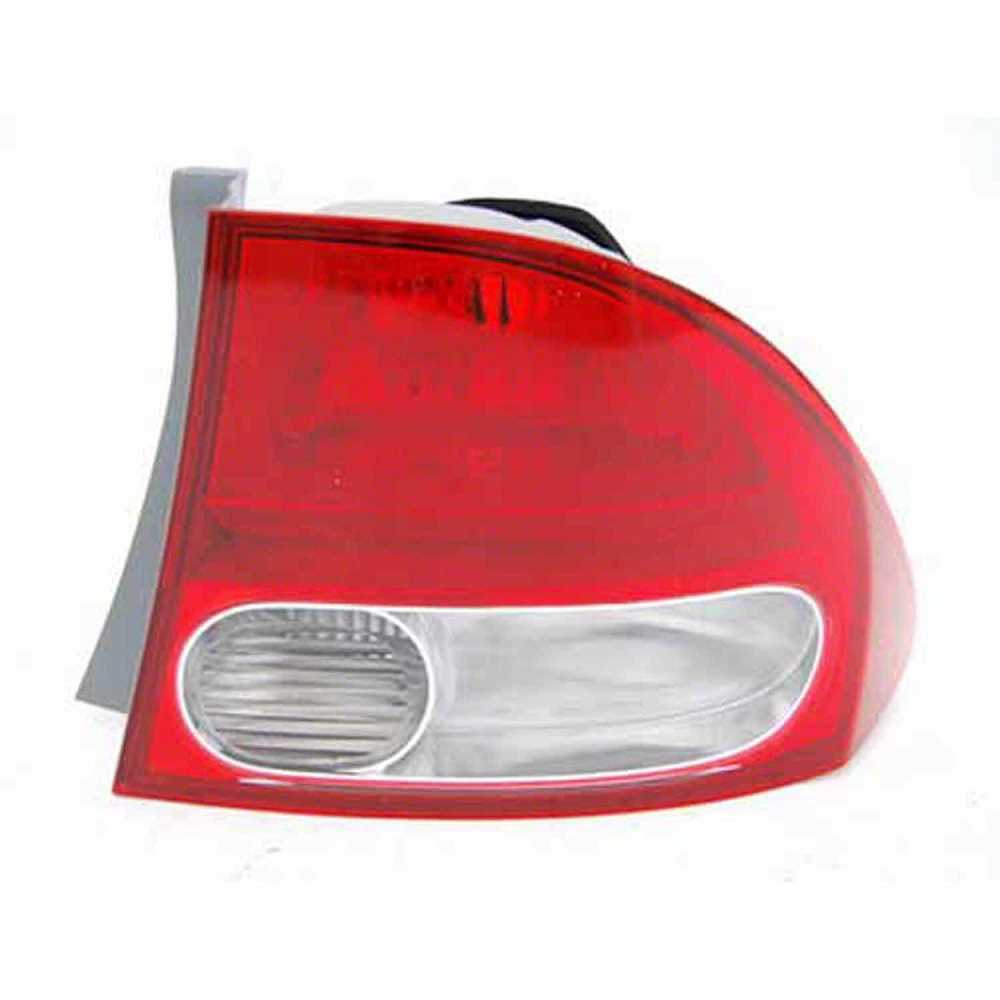 One New Right Side Tail Light Assembly fits 2009-2011 Honda Civic