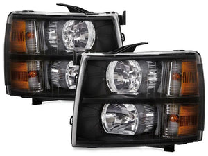 Fits Tiffin Allegro Red 2013-2015 Motorhome RV Left and Right Headlights Pair