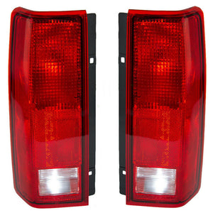 NEW TAIL LIGHT PAIR FIT CHEVROLET ASTRO 1985-2005 GM2801112 5978024 GM2800113