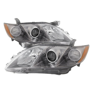 Headlights Halogen Headlamps Pair Left Right Set 2007-2009 Toyota Camry