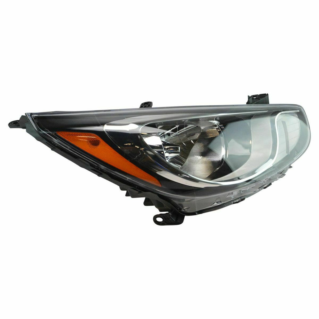 New Headlight Headlamp Assembly RH Right Passenger Side for 12-14 Hyundai Accent