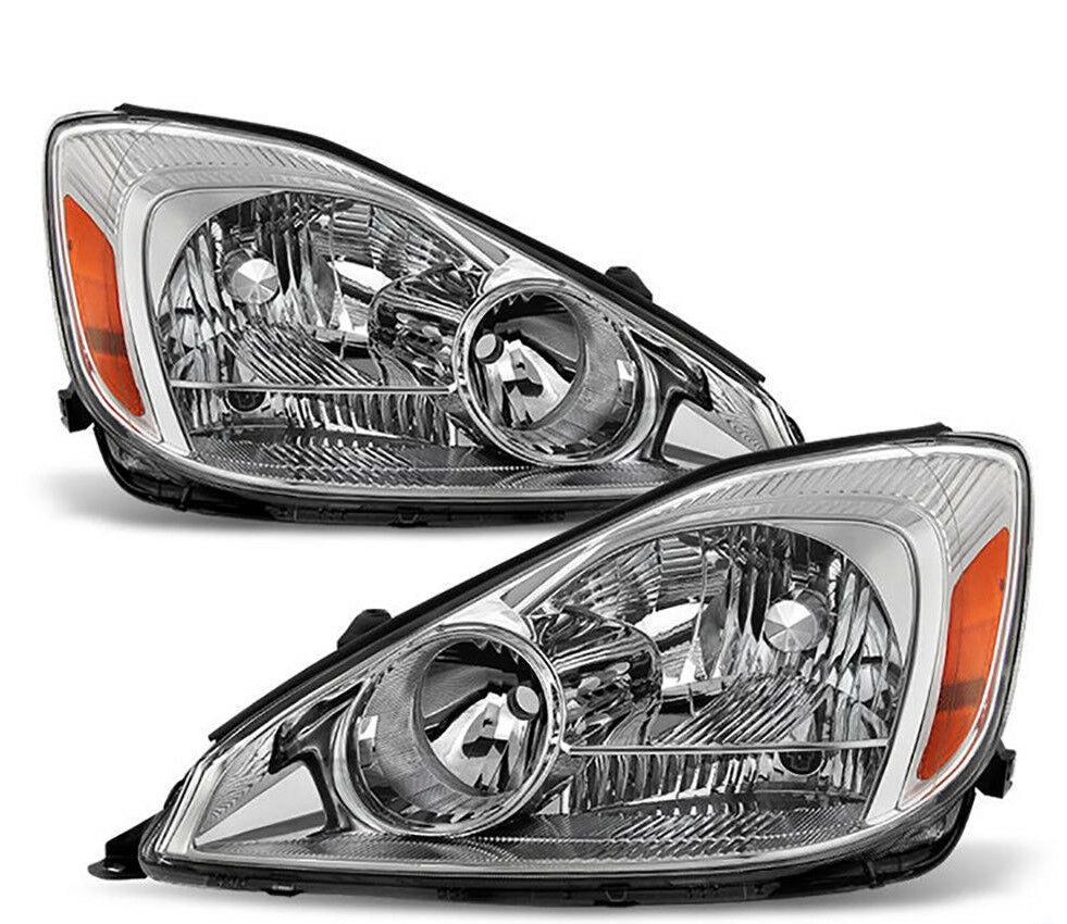 "For 04-05 Toyota Sienna Van ""COMPLETE LEFT+RIGHT"" Front Headlights Headlamps NEW"